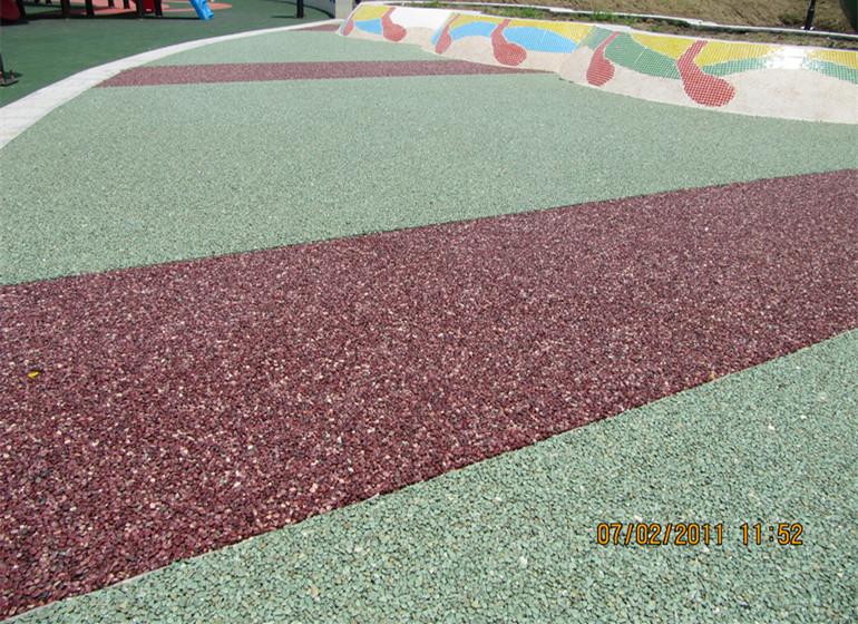 彩色透水地坪施工方案-环氧地坪漆,水性地坪漆!