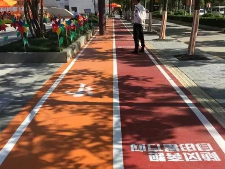 高强无机彩色防滑路面-环氧地坪漆,水性地坪漆!